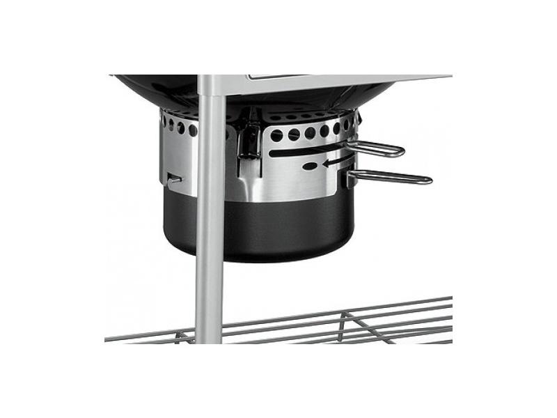 Weber Holzkohlegrill Performer Premium Gbs 57 Cm : Weber grill węglowy performer premium gbs cm czarny