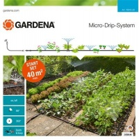 GARDENA Micro-Drip-System – zestaw podstawowy na grządki i rabaty(13015-20)