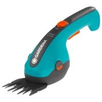 GARDENA Akumulatorowe nożyce do cięcia krzewów i brzegów trawnika ClassicCut (9854-20) Zestaw